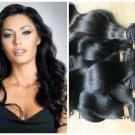 Virgin Malaysian Human Hair Extensions 5A Body Wave 14/16/18' inches 3 Bundles
