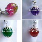 Set of 4 pcs agate pendants charms for necklaces or bracelets