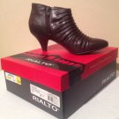 NEW Stylish Women's Rialto Salina Espresso Ankle Boots - Size 8 1/2 Medium