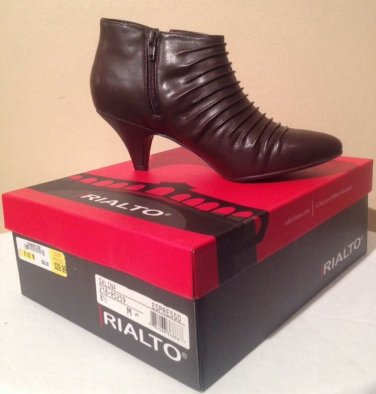 NEW Stylish Women's Rialto Salina Espresso Ankle Boots - Size 8 1/2 Medium