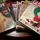 Vintage Early 1980s Playboys - Includes 10 Issues from 1981 to 1984