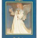 "8"" Sympathy Angel Music Box - Exquisite White Porcelain"