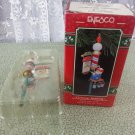 "1991 Enesco ""Christmas Trimming"" - Handy Dandy Elf Series Ornament"