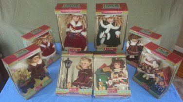 8 Classic Treasures Special Edition Collectible Dolls - 2 Limited Edition