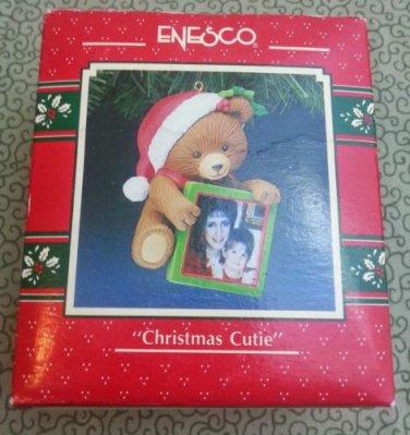 "1991 Enesco ""Christmas Cutie"" Treasury of Christmas Ornament"