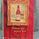Vintage Budweiser Portrait of a Perfect Host Saint Louis Menu - 7th St. Barbecue