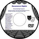 Decameron Nights 1953 DVD Film Italian Love Stories Joan Fontaine Louis Jourdan