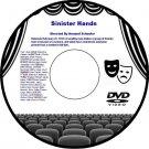 Sinister Hands 1932 DVD Film Detective Murder Mystery Armand Schaefer Jack Mulha