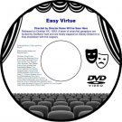 Easy Virtue 1922 DVD Film Comedy Alfred Hitchcock Isabel Jeans Franklin Dyall