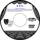 D.O.A.(Dead Or Alive) 1950 Drama Thriller Film DVD Edmond O'Brien Pamela Britton