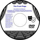 The Front Page 1931 DVD Film Comedy Adolphe Menjou Pat O'Brien Mary Brian Edward