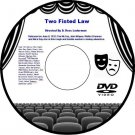 Two Fisted Law 1932 DVD Film Romantic Cowboy Adventure D. Ross Lederman Tim McCo
