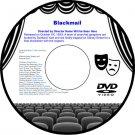Blackmail 1947 DVD Film Noir Private Eye Murder Adventure William Marshall Adele