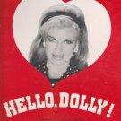 HELLO, DOLLY! souvenir program GINGER ROGERS