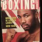 BOXING ILLUSTRATED Magazine AUGUST 1993 - Lennox Lewis Tucker