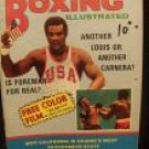 November 1970 Boxing Illustrated magazine George Foreman