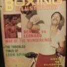 BOXING ILLUSTRATED DECEMBER, 1979 BENITEZ VS LEONARD