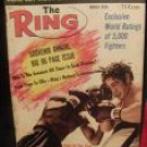 THE RING MAGAZINE JOE FRAZIER BOXING HOFer-OSCAR BONAVENA MARCH 1969