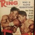 THE RING BOXING Magazine August 1964 floyd robertson, emile griffith, olympics