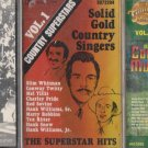 COUNTRY MUSIC CASSETTE TAPE LOT (3)