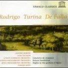 Rodrigo / Turina / De Falla  by Rodrigo,Turina,De Falla  UPC: 0724357072328