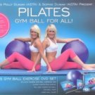PILATES GYM BALL, PUMP, DVD, WALL CHART GYM BALL FOR ALL KIT NEW INBOX DUNIAM