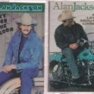 ALAN JACKSON CASSETTE LOT (2) DON'T ROCK THE JUKEBOX & A LOT ABOUT LIVIN