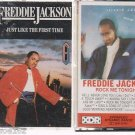 Rock Me Tonight & JUST LIKE THE FIRST TIME by Freddie Jackson -CASSETTES (2)