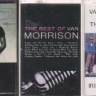VAN MORRISON & THE CHIEFTAINS CASSETTE LOT
