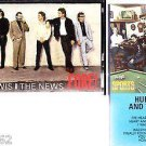 HUEY LEWIS AND THE NEWS FORE & SPORTS CASSETTES
