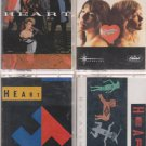 HEART CASSETTE LOT-Dreamboat Annie-Bad Animals-Brigade