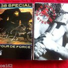 38 SPECIAL-TOUR DE FORCE & BONE AGAINST STEEL CASSETTES (2)