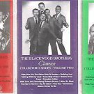 BLACKWOOD BROTHERS CLASSIC COLLECTOR'S SERIES VOLUMES 1-2-3 CASSETTES