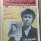 GOLDMINE COLLECTORS MAGAZINE #124 -April 1985-TIM BUCKLEY,LEE ROGERS,WARREN STORM