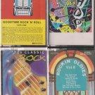 Rock N Roll Cassette Lot (4)