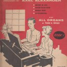 Four Hands at the Organ-for All Organs Or Piano & Organ-Book 1. by Arranged By Axel Alexander