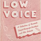 Homer Rodeheaver's Low Voice Collection No. 5