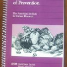 An Ounce of Prevention: Winter Volume (AICR Cookbook Series) Spiral-bound