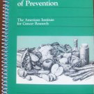 An Ounce of Prevention: Spring Volume (AICR Cookbook Series)