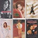 Gloria Estefan Cassette Lot (6)