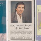 Mac Frampton Cassette Lot-Seraph-At Your Request-Projections