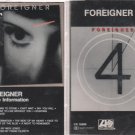 FOREIGNER CASSETTE LOT-#4 & INSIDE INFORMATION