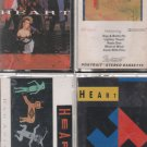 HEART CASSETTE LOT ($3.99)Bad Animals-Brigade-Dogs & Butterflys