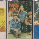 The Mamas and the Papas Cassette Lot (2.99)