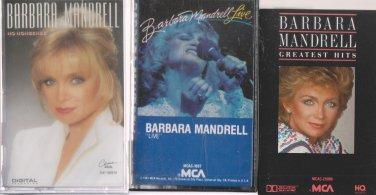 BARBARA MANDRELL Cassette Lot (3.99)