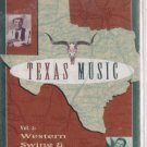 TEXAS MUSIC Vol. 2 Bob Wills Floyd Tillman Johnny Gimble Lefty Frizzell