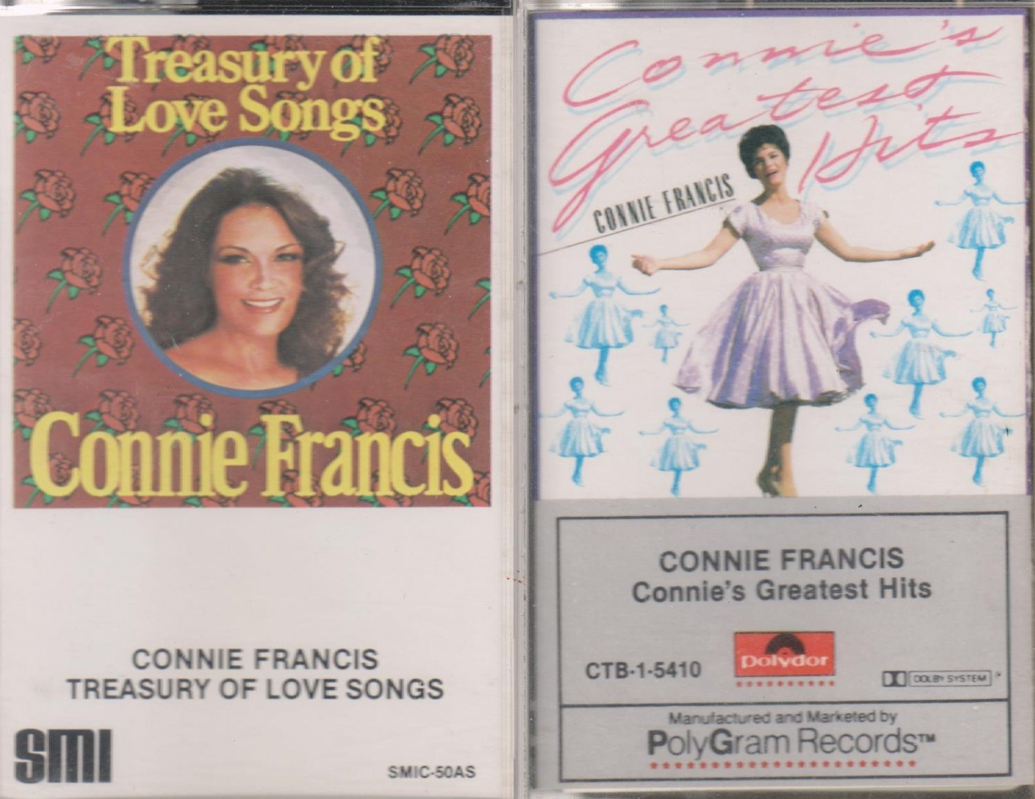 Connie Francis Love Songs/Greatest Hits (2.99)