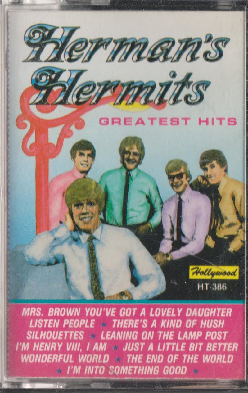 HERMAN'S HERMITS: GREATEST HITS CASSETTE