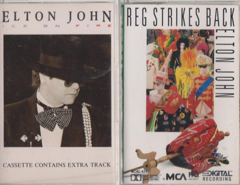 Ice On Fire & Reg Strikes Back - Elton John Cassette (1.99)