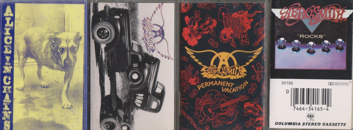 Aerosmith Cassette Lot (3.99)